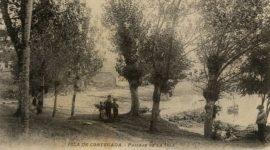 Fotografias antiguas Illa de Cortegada - Archivo patrimonial de Vilagarcía